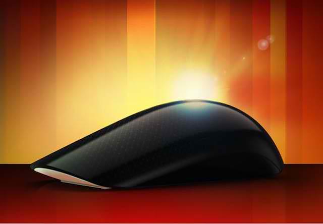Ποντίκι με επιφάνεια αφής Microsoft Touch Mouse.