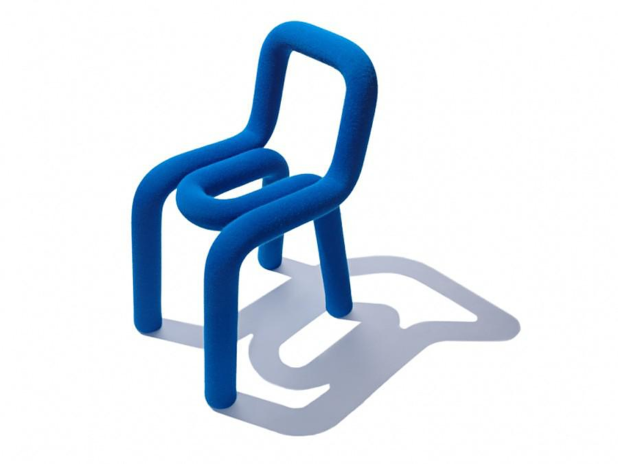 Bold chair by BIG-GAME for Moustache.