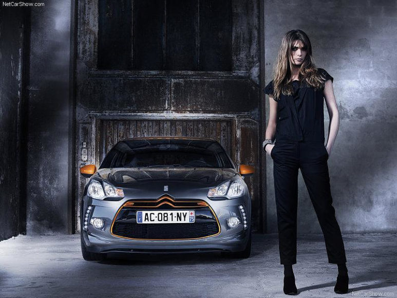 Special edition Citroën DS3 Racing.