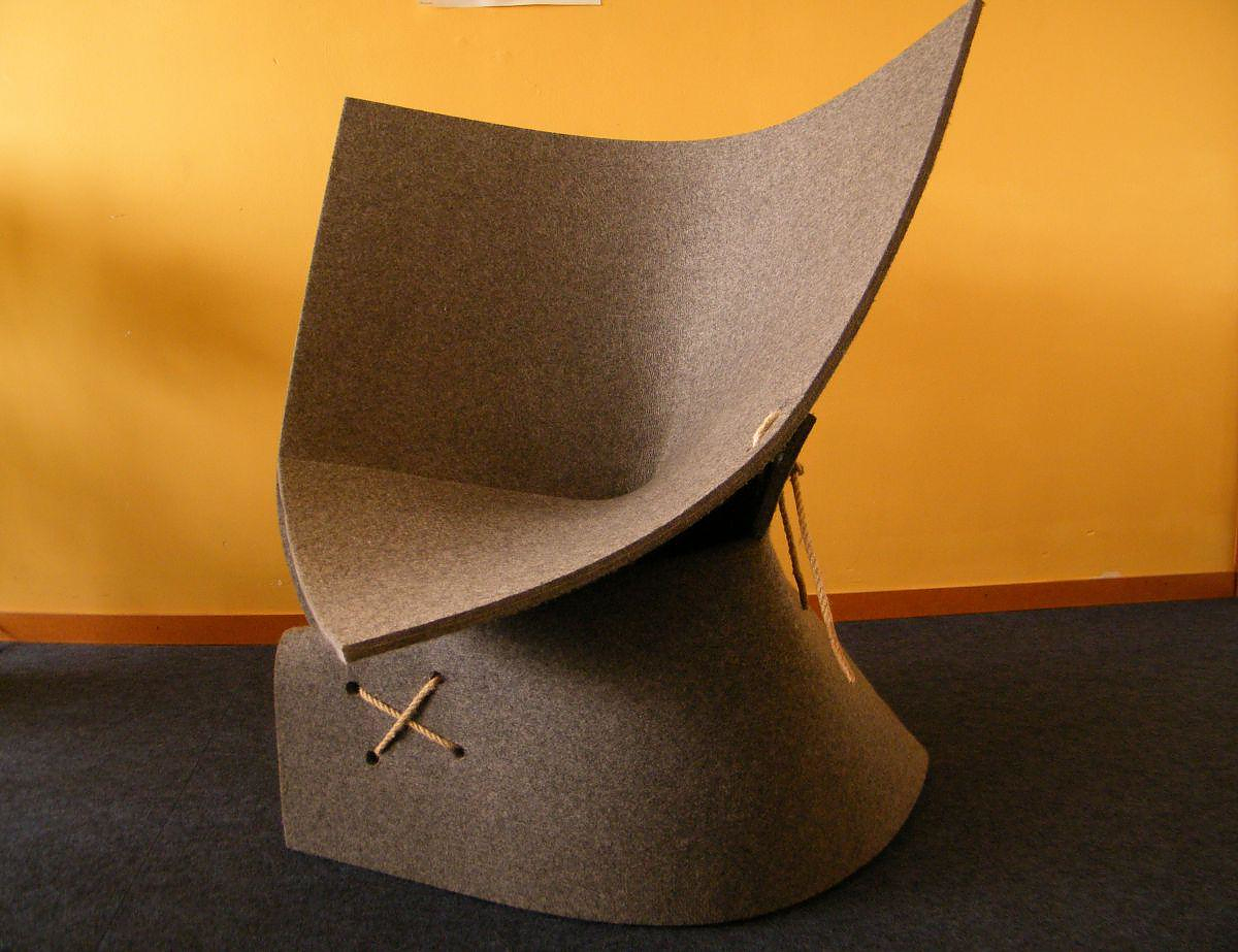 FF1 Armchair by Fox & Freeze.