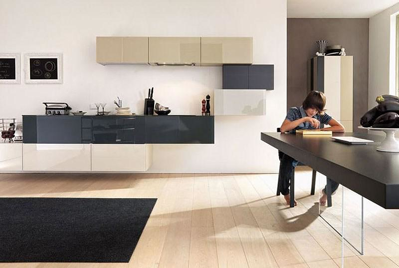 Minimalist kitchen furniture by lago design is this for Lago furniture
