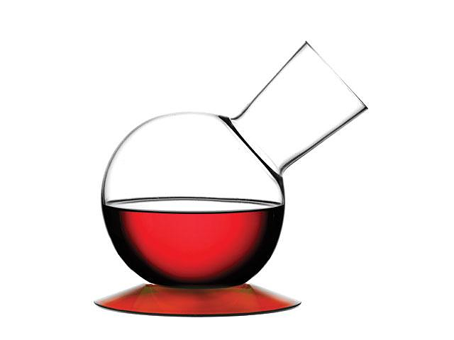 Legnoart Elixir wine decanter.