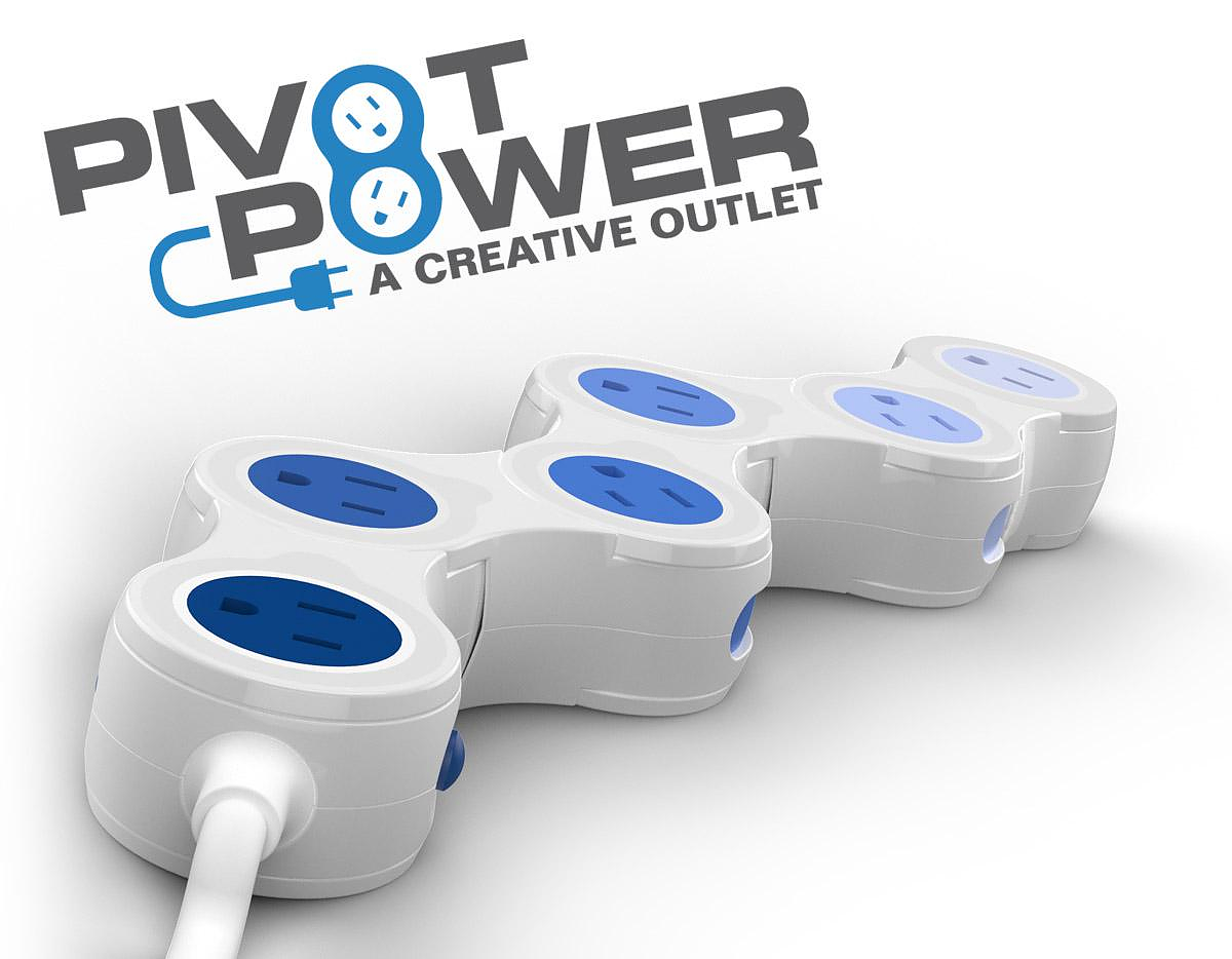 Pivot Power, a creative power outlet by Quirky.