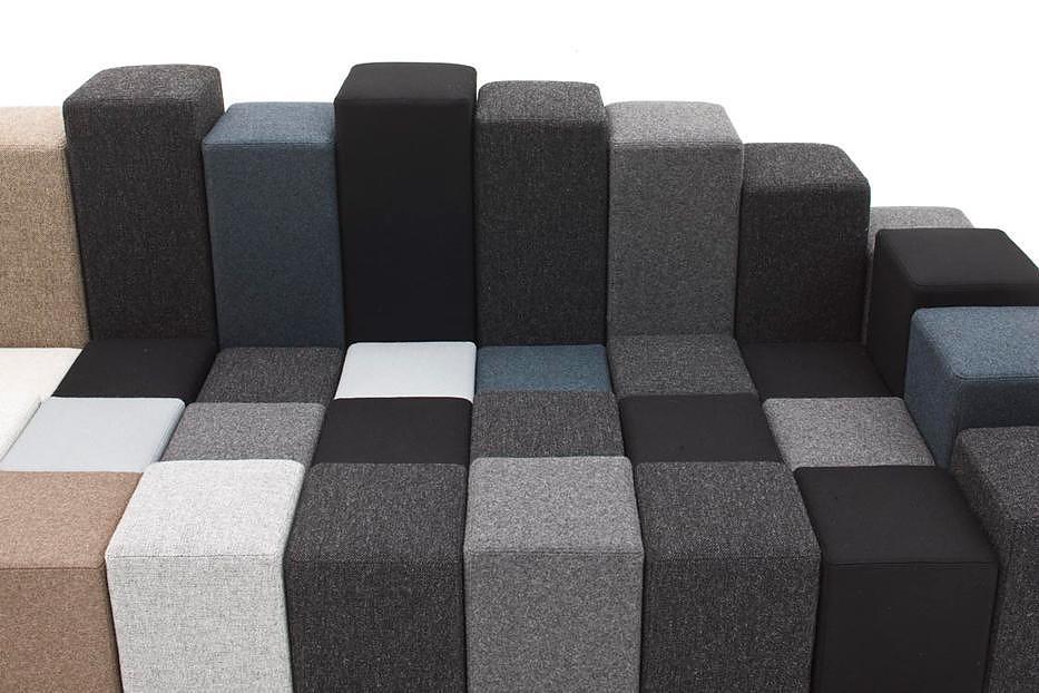 Do-Lo-Rez sofa by Ron Arad for Moroso.