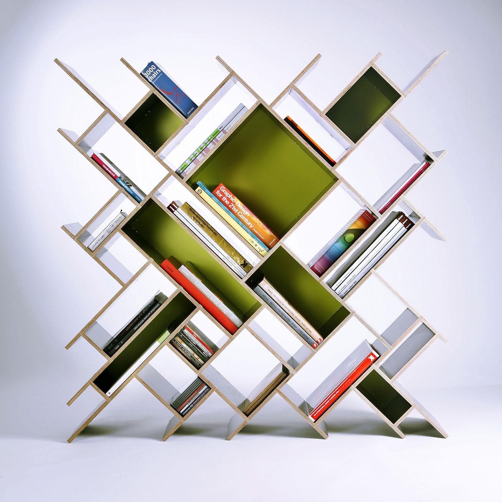 Contraforma Quad Bookcase Design Is This