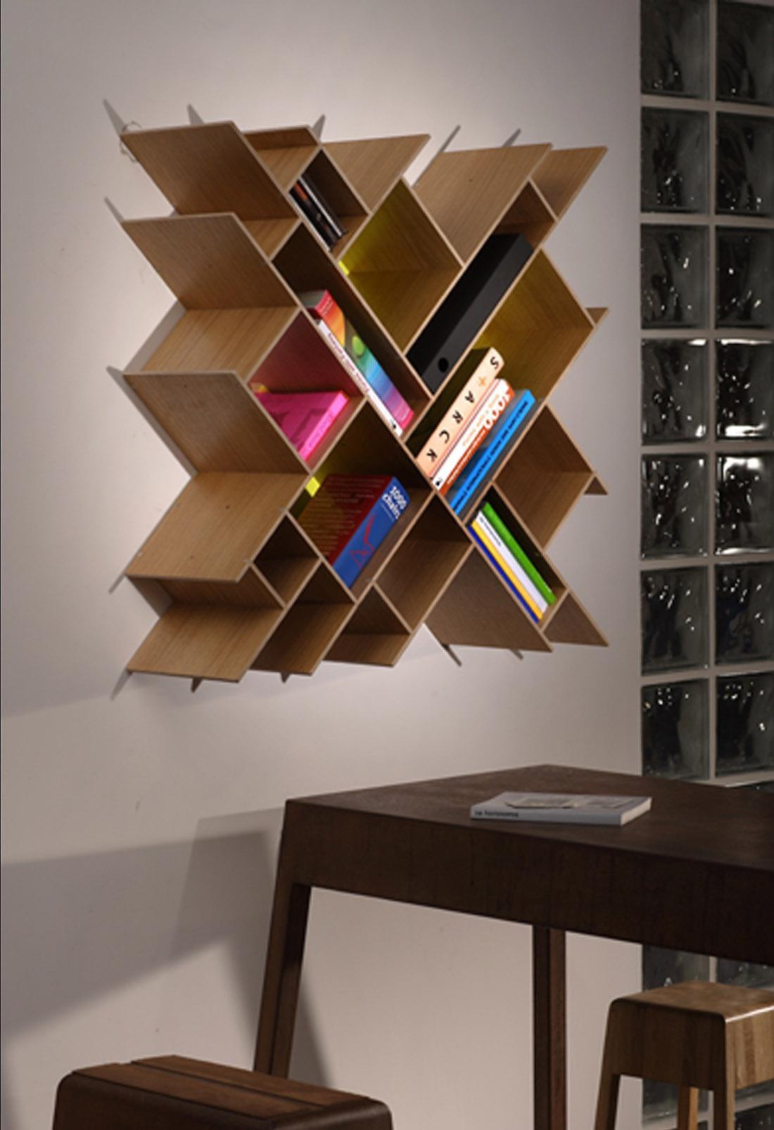 Contraforma Quad bookcase.