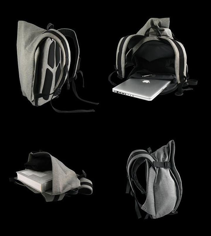 COTE et CIEL Laptop Rucksack, futuristic and practical.