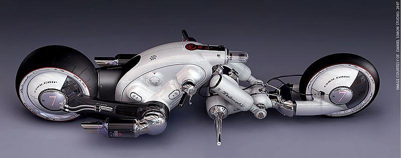 Cosmic Motors, τα οχήματα ενός άλλου γαλαξία.