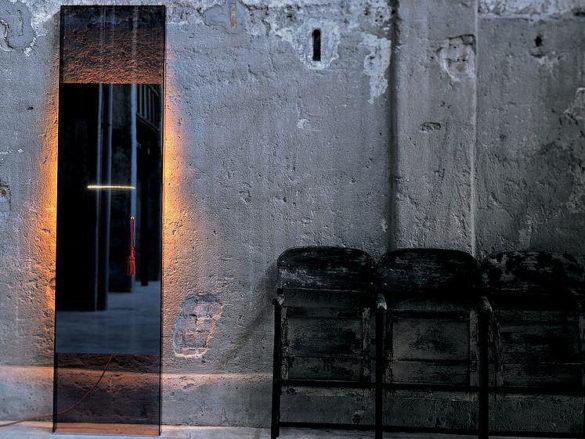 Diva Mirror by Jean Marie Massaud for Glas Italia
