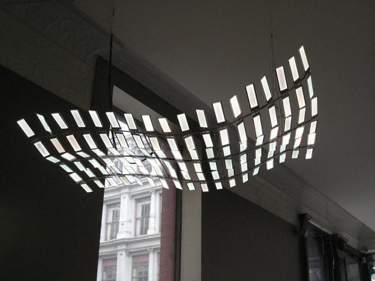 Flying Future OLED Lamp by Ingo Maurer.