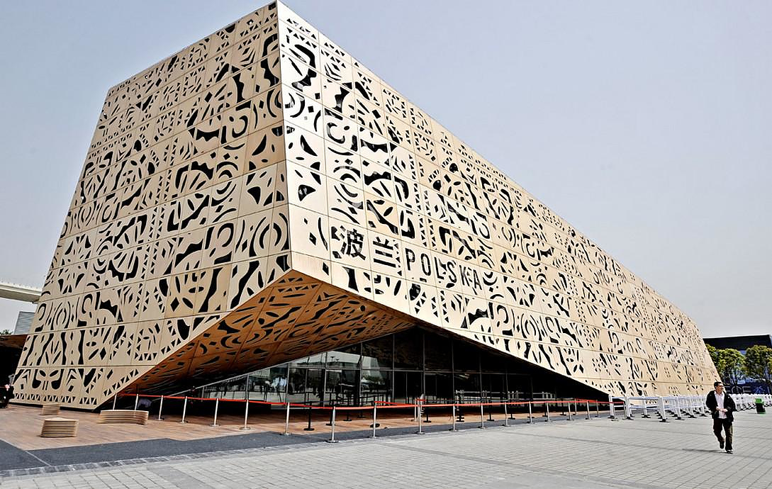 Shanghai Expo 2010 gives birth to Architectural Landmarks.