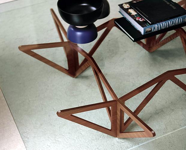 Τραπεζάκι καφέ Origami της Porada.