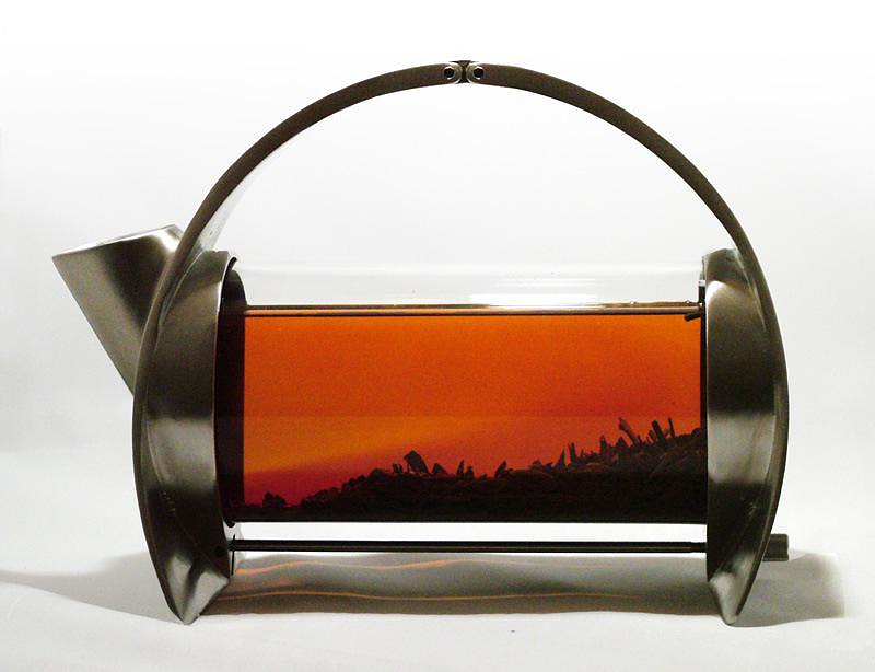 Sorapot architectural teapot by Joey Roth.