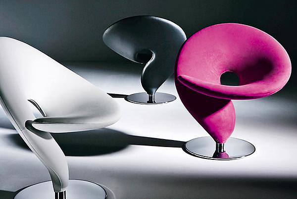 Question Mark Chair by Stefan Heiliger for Tonon.