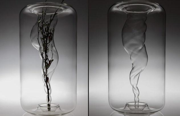 Tourbillon Vase by A A Cooren