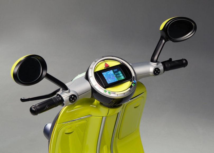 Ηλεκτρικό MINI Scooter με βάση για Smartphone.