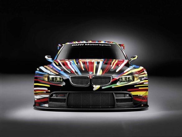 BMW M3 GT2 Art Car by Jeff Κoons