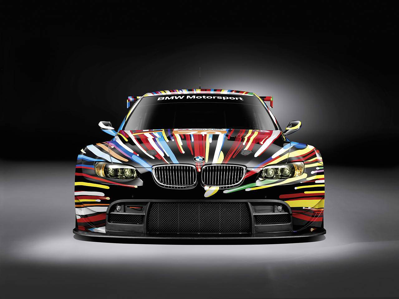 BMW M3 GT2 Art Car by Jeff Κoons