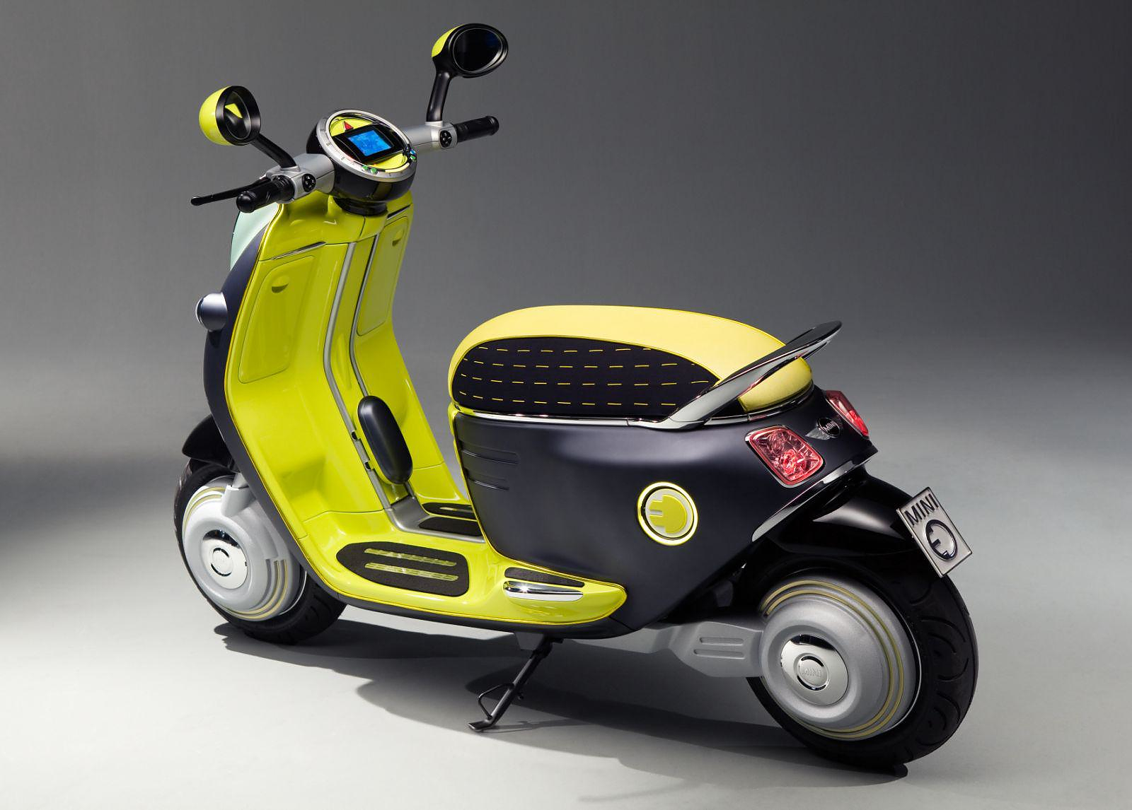 MINI Scooter E Concept, Electric Scooter.