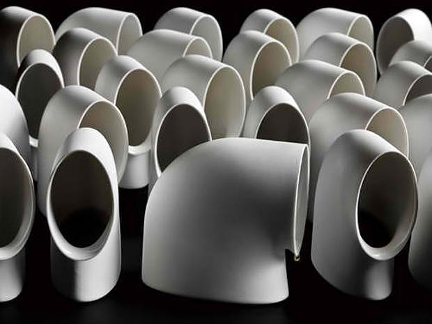 Sculptural Tableware by Aldo Bakker.