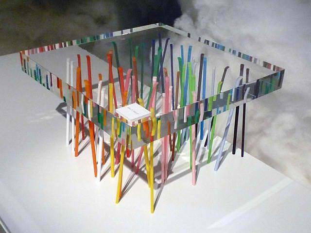 Shibafu Table by Emmanuelle Moureaux.