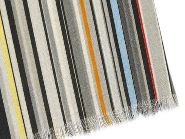Stylish Multicolor Scarfs by Paul Smith.