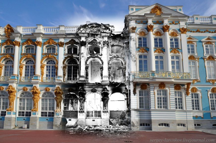 Το παρόν συναντά το παρελθόν μέσα από την φωτογραφική δουλειά του Sergey Larenkov.