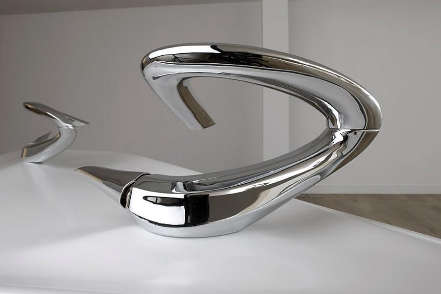 Zaha Hadid Triflow Faucet.