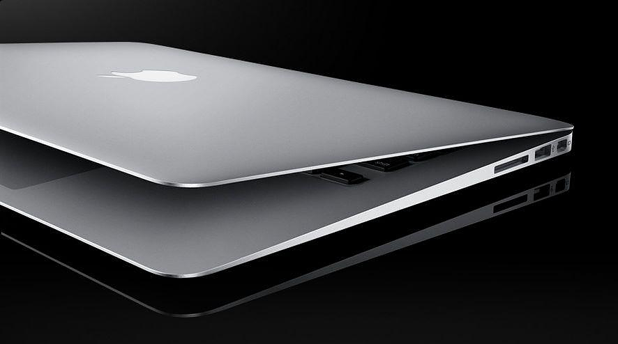 The new MacBook Air with Flash Memory.