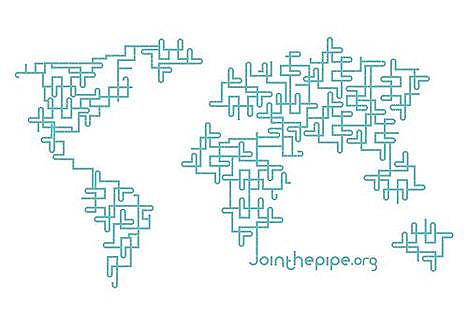 Jointhepipe, humanitarian design for a cause.