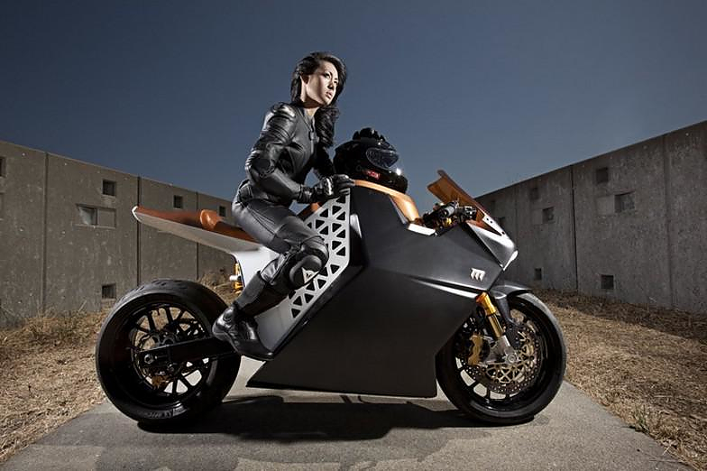 Mission One Electric Superbike by Mission Motors.