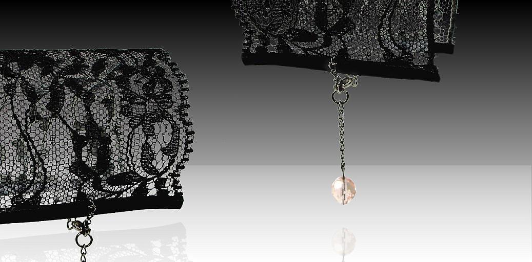 Awesome Lace Bracelets by Sandra Bautista.