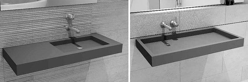HighTech Concrete Washbasins.