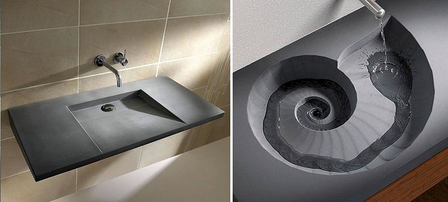HighTech Concrete Washbasins