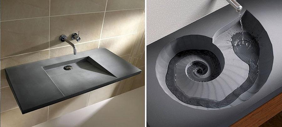 HighTech Concrete Washbasins