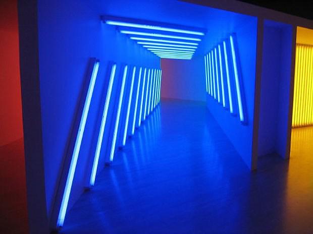 FLAVIN CONSTRUCTED LIGHT, Dan Flavin virtual exhibition.