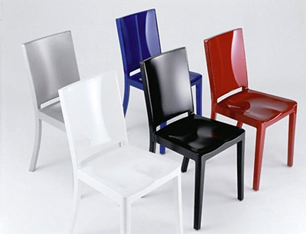 Emeco Hudson Chair by Philippe Starck.