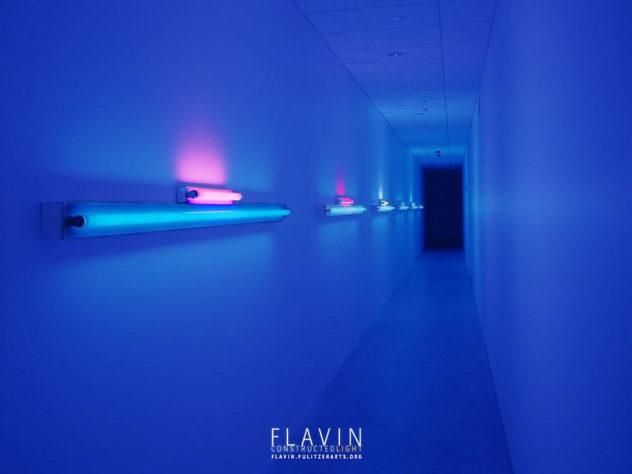 FLAVIN CONSTRUCTED LIGHT Dan Flavin Digital Exhibition