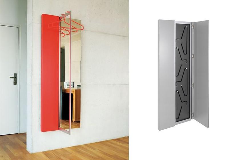 Flip Mirror-Coatrack by JEHS+LAUB for Schönbuch.
