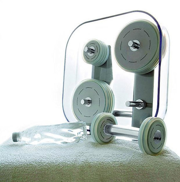 Workout in style with Technogym Wellness Dumbbells.