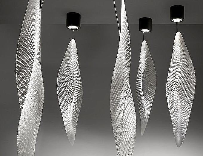 Cosmic Lamps by Ross Lovegrove for Artemide
