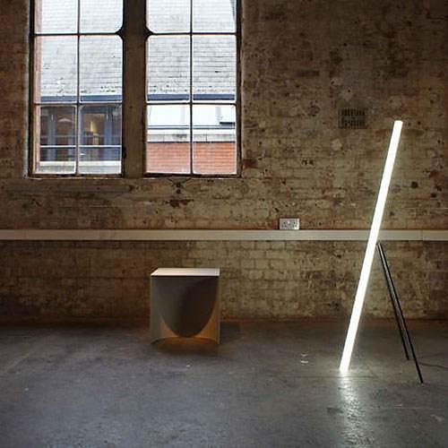 Minimalist LED Lamp by Chicako Ibaraki.