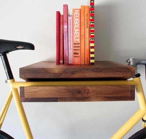 Bike shelf by Knife & Saw