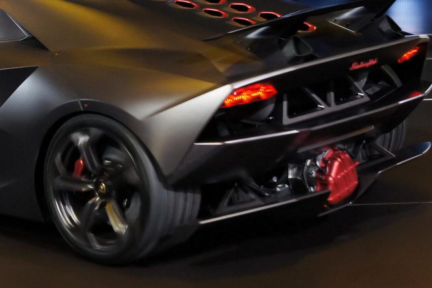 Sesto Elemento, η ελαφρύτερη Lamborghini.