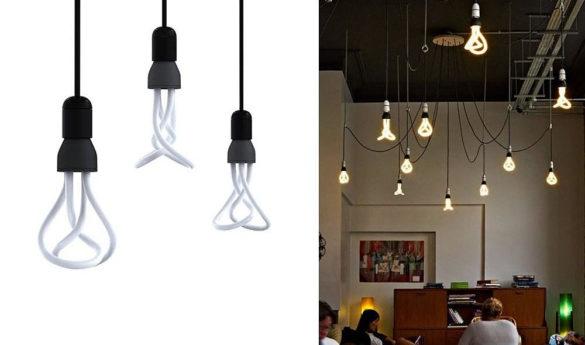 PLUMEN 001 Designer low energy light bulb