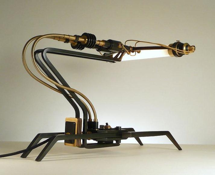 Φωτιστικά Machine Lights του Frank Buchwald.