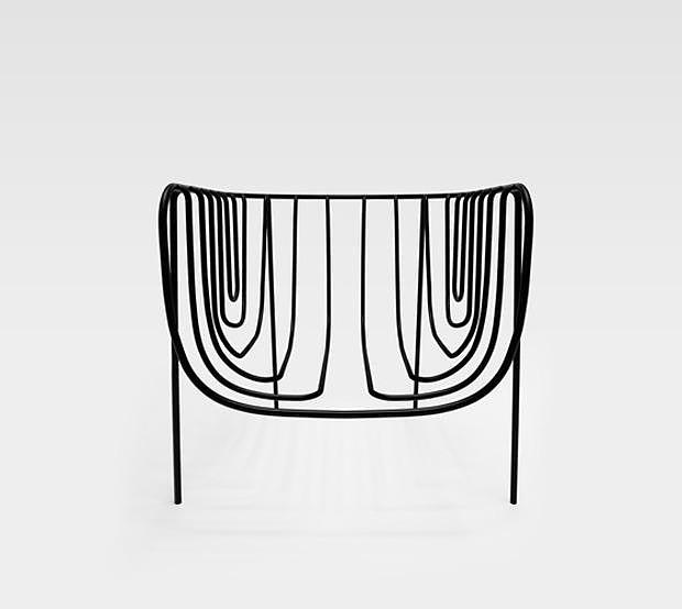 Nendo Thin Black Lines Minimalist Furniture.