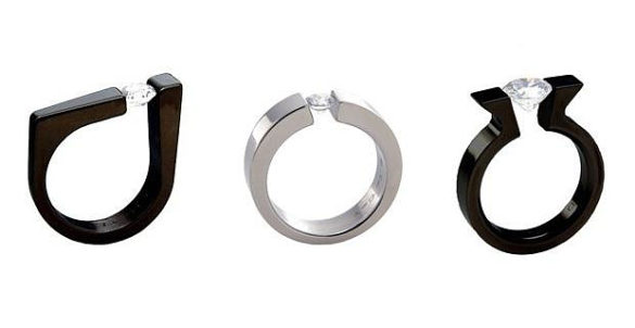 Absolute Titanium Design Tension Rings