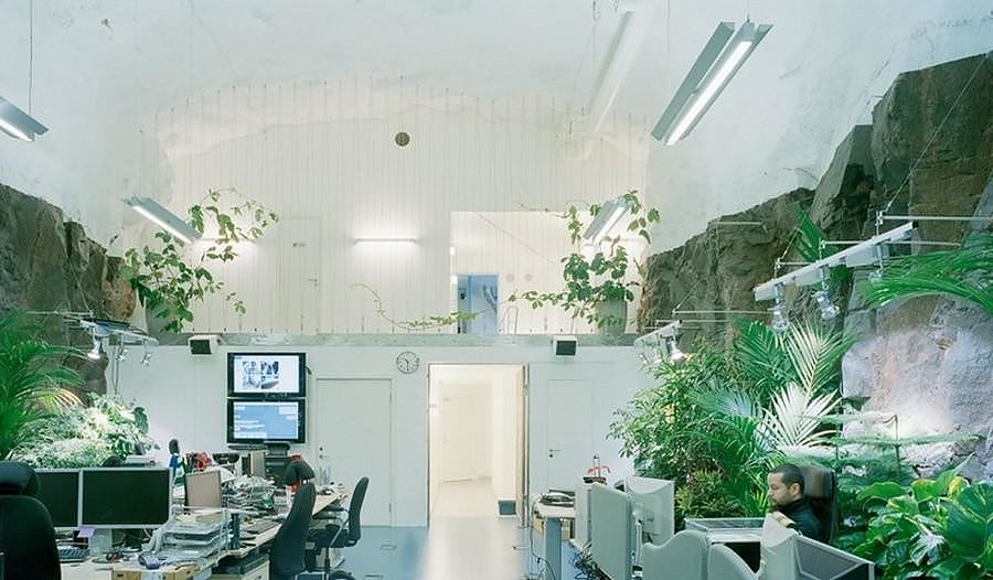 Ex-Nuclear Safe House Turned Into Offices by Albert France-Lanord Architects.