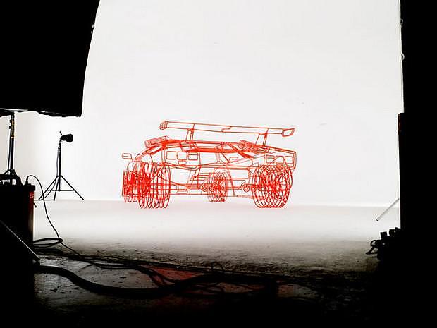 Μια Lamborghini Countach διαφορετική από τις άλλες.